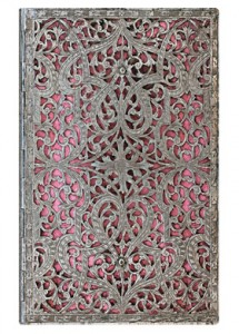 The Silver Filigree collection is a great example of the cultural inspiration that Paperblanks uses for their covers. This design is available in a number of sizes.