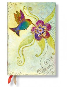 Paperblanks Hummingbird Mini 18-Month Planner