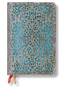 Paperblanks Maya Blue Mini 18-Month Planner