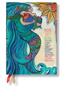 Paperblanks Ocean Song 18-Month Planner