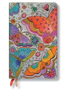 PB29533 Paperblanks Flutterbeyes Maxi 18-Month Planner