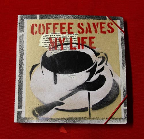 Deafmessanger Square Journal Coffee Saves my Life