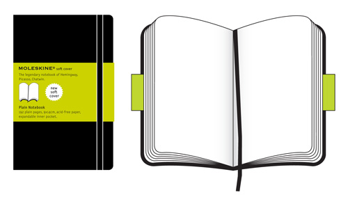 Moleskine Pocket Plain Notebook Soft Cover