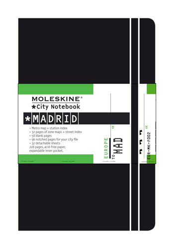 Moleskine City Notebook Madrid