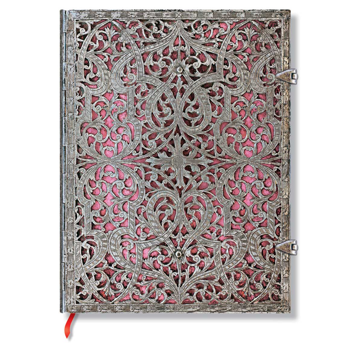 "Paperblanks Filigree Blush Pink 7"" x 9"" Lined Ultra Journal"