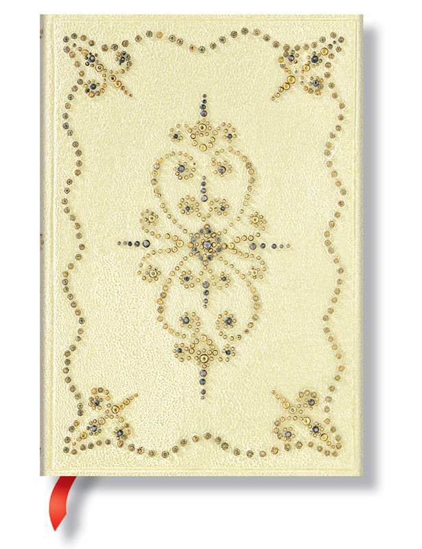 "Paperblanks Shimmering Delights Buttercream Midi 5"" x 7"" Journal"