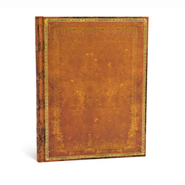"Paperblanks Old Leather Classics 7"" x 9"" Handtooled Ultra"