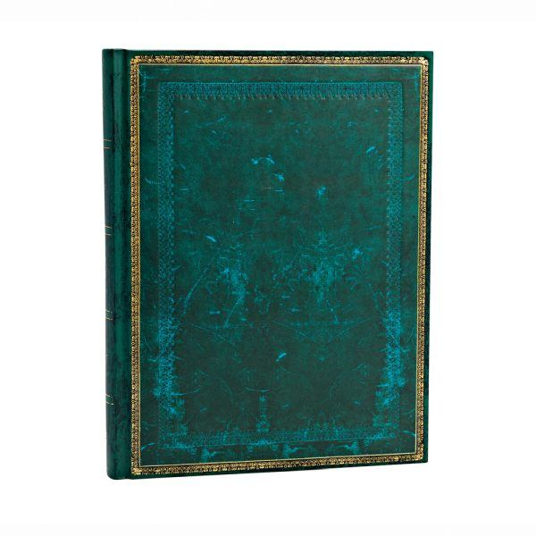 "Paperblanks Old Leather Classics 7"" x 9"" Viridian Ultra"