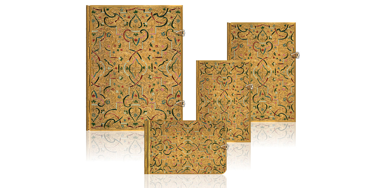 Paperblanks Gold Inlay