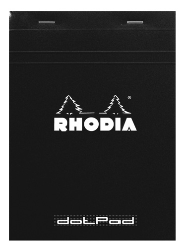 "Rhodia Dot Pad Staplebound Notebook 6"" x 8 1/4"""