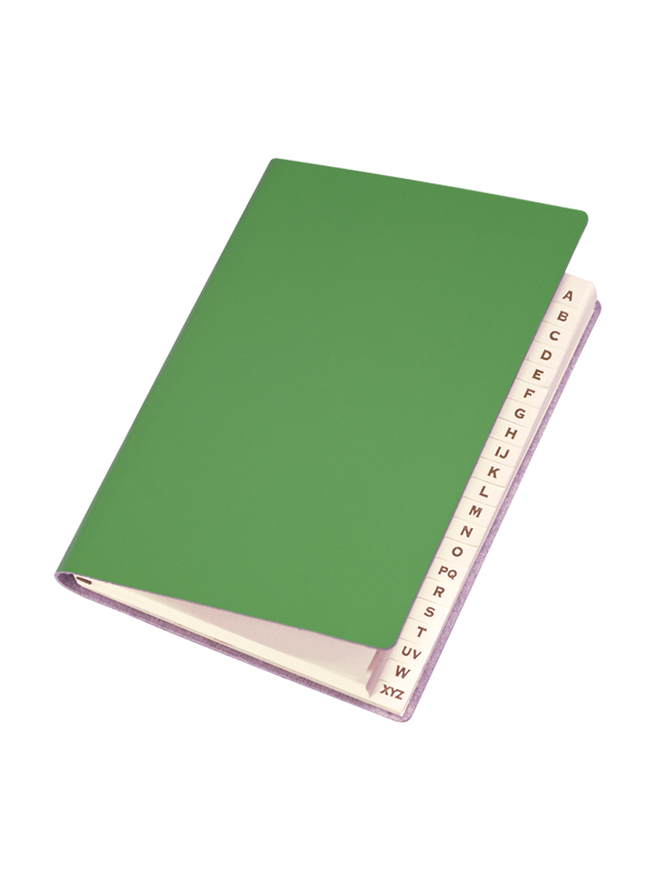 Paperthinks Slim Address Book Mint