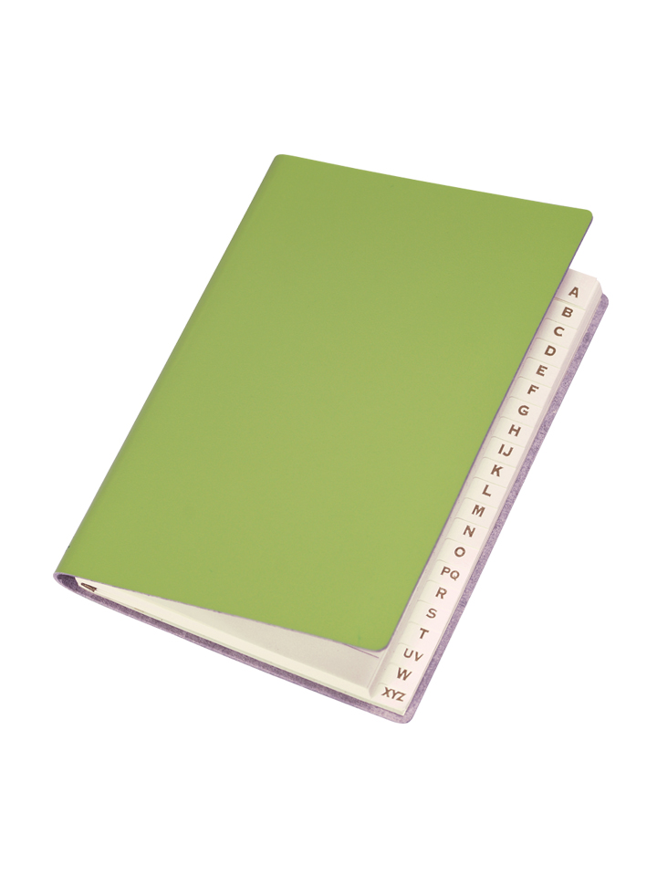 Paperthinks Slim Address Book Lime