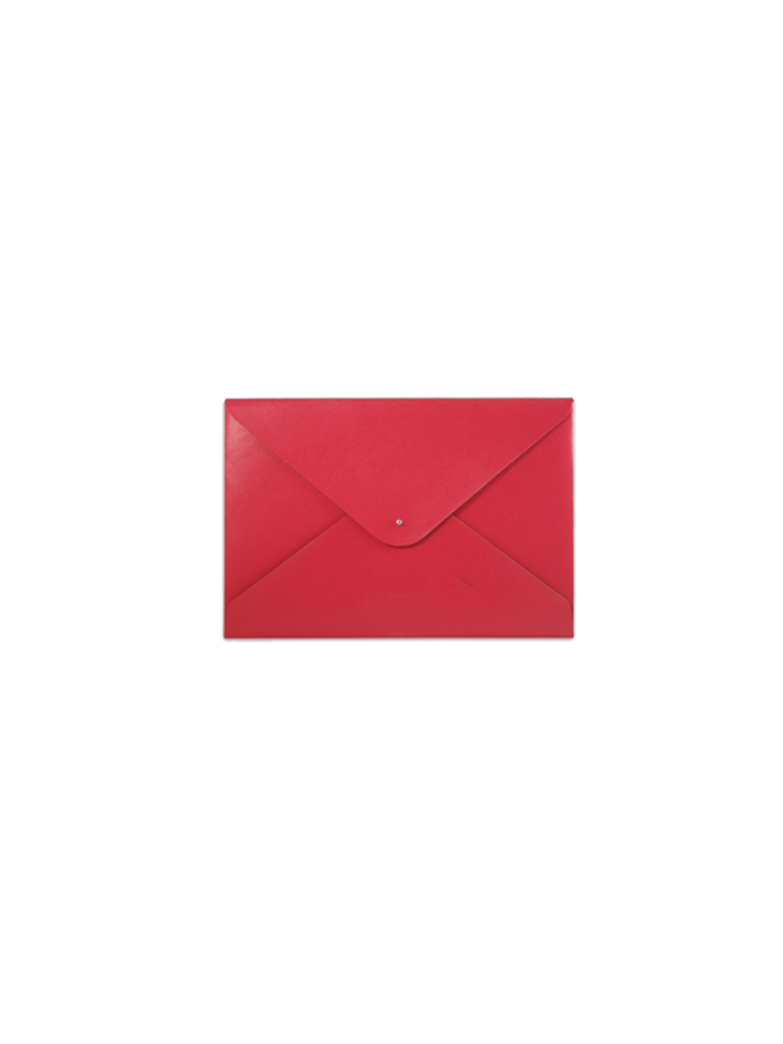 Paperthinks Small Folder Scarlet Red