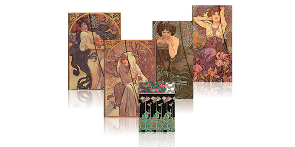 Paperblanks Mucha Collection