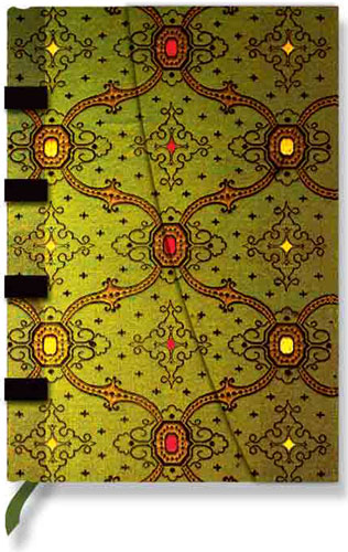 Paperblanks French Ornate Vert Midi Lined Journal