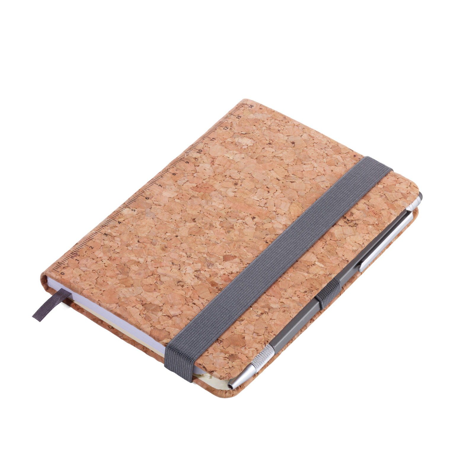 Troika A6 Notebook with Slim Construction Pen Cork