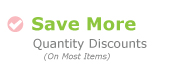 Save more with quantity discounts