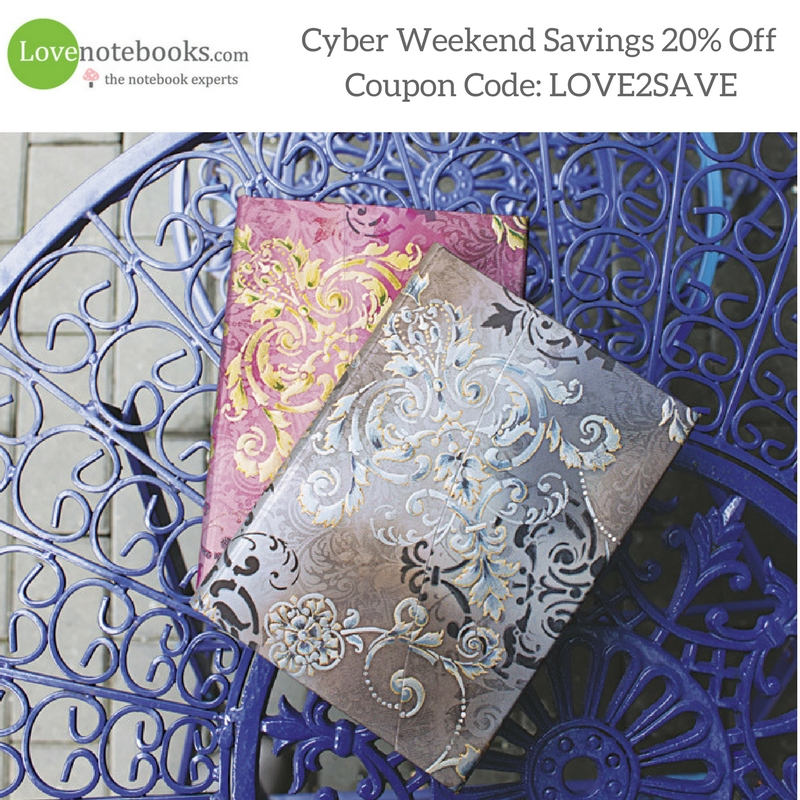 Lovenotebooks.com Coupon LOVE2SAVE