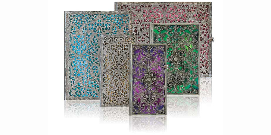 Paperblanks Silver Filigree