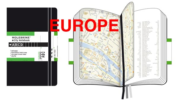 City Notebooks Europe