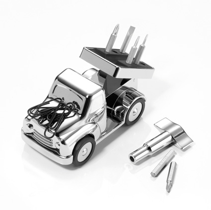 Troika WaltonTruck Mechanical Paperweight