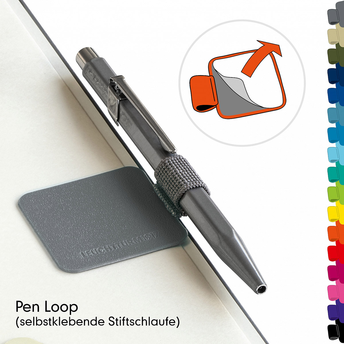 Leuchtturm Pen Loop for your favorite notebook