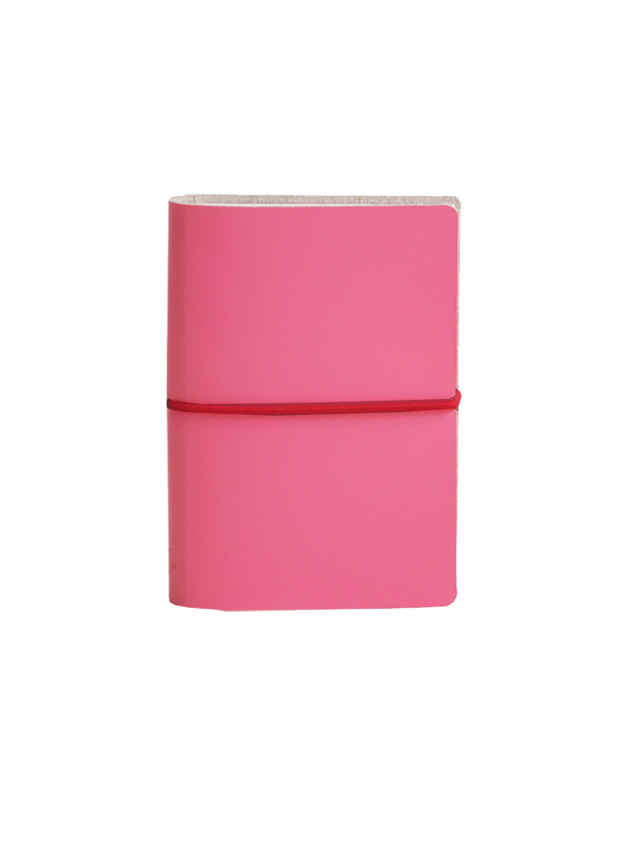 Paperthinks Memo Pad with Band Fuchsia