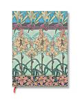 "Paperblanks Mucha Tiger Lily 2-3/4"" x 3-1/2"" Micro Journal"