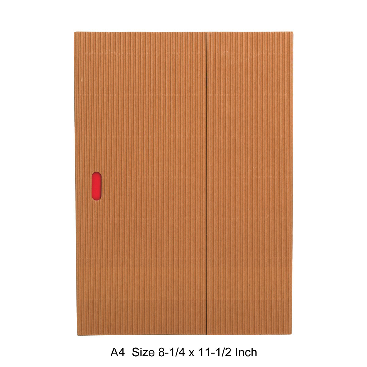 Paper-Oh Ondulo Notebook A4 Size Natural Lined