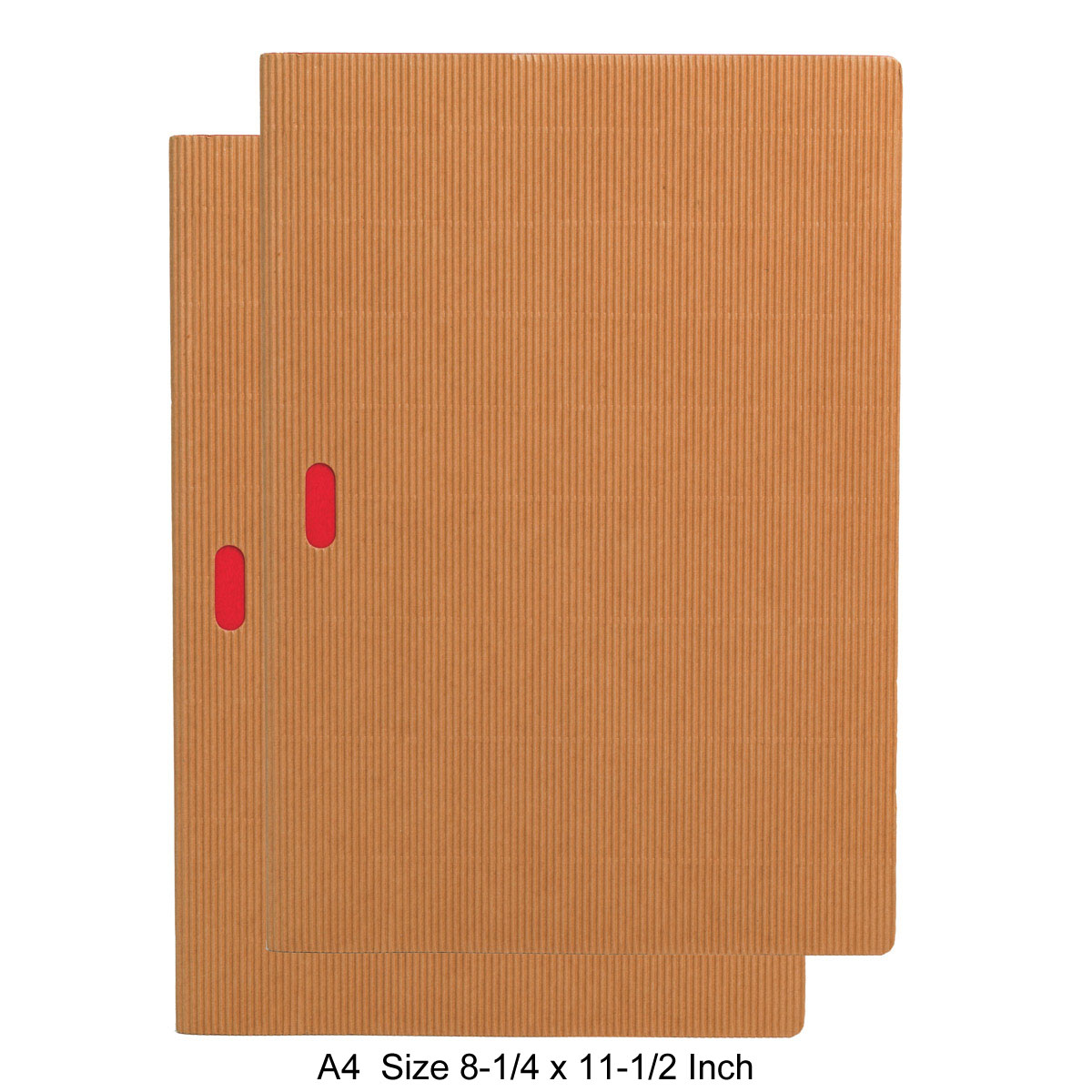 Paper-Oh Ondulo Cahier Notebook A4 Size Set of 2