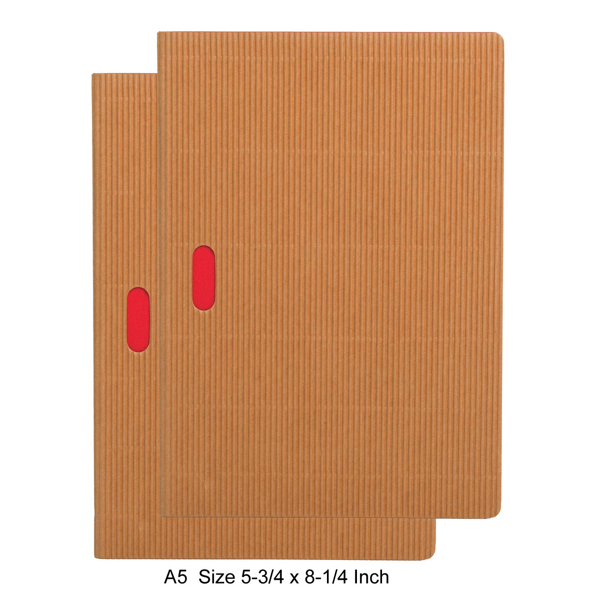 Paper-Oh Ondulo Cahier Notebook A5 Size Set of 2