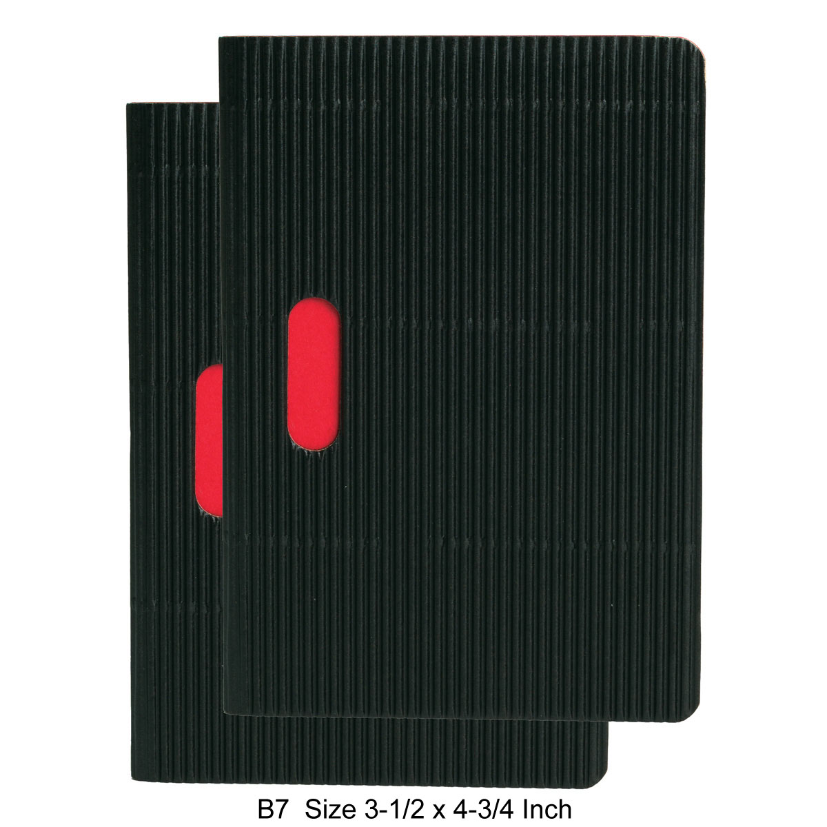 Paper-Oh Ondulo Cahier Notebook B7 Size Set of 2