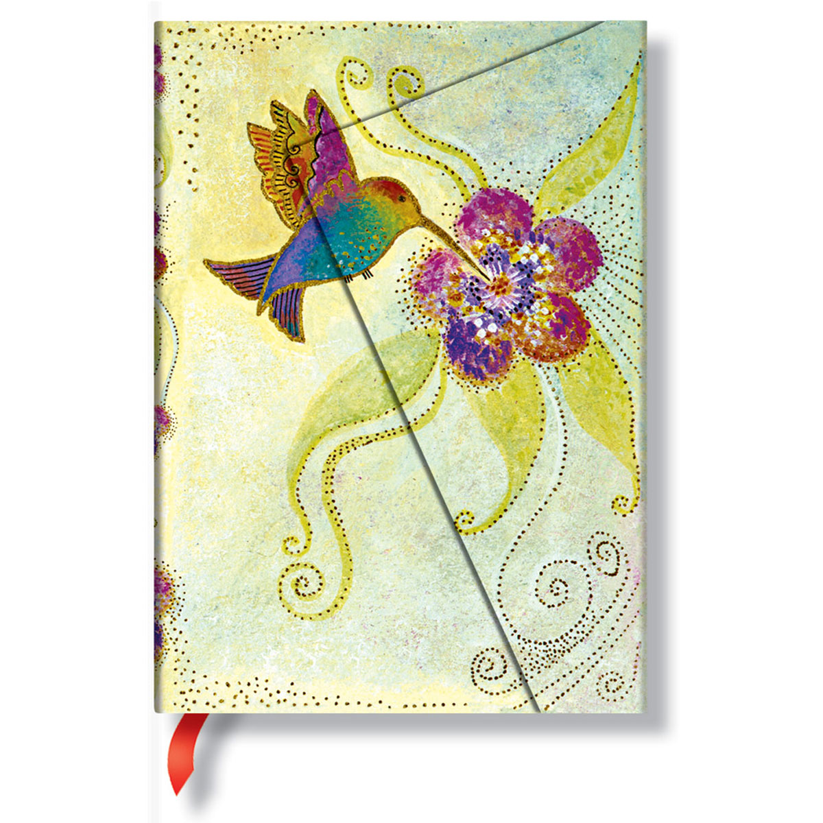 Paperblanks Laurel Burch Hummingbird Midi 5x7 Inch Journal