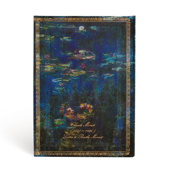 "Paperblanks Monet Water Lilies Midi 5 x 7 "" Lined Journal"