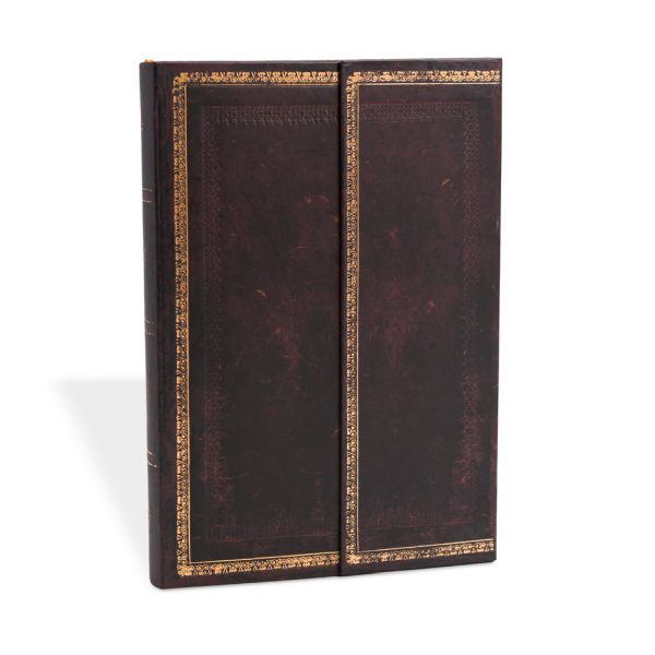 Paperblanks Black Moroccan 4 x 5.5 Mini Address Book