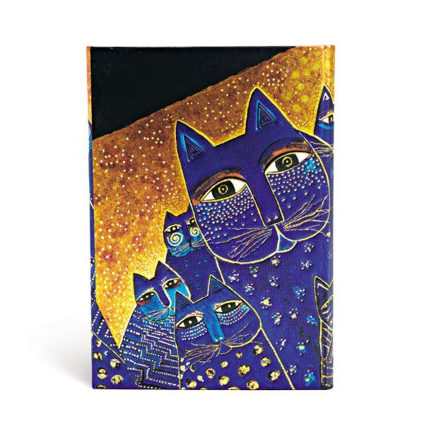 Paperblanks Mediterranean Cats 4 x 5.5 Mini Address Book