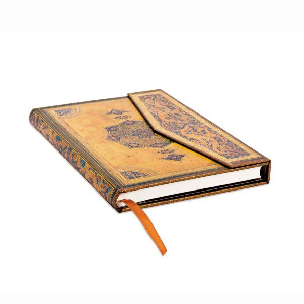 Paperblanks Safavid Midi 5 x 7 Inch Journal with Magnetic Flap