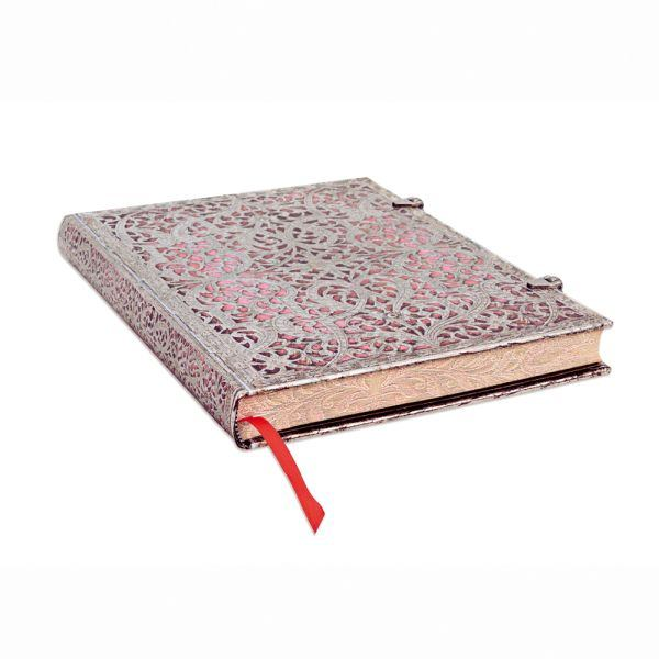 Paperblanks Filigree Blush Pink 7 x 9 Inch Lined Ultra Journal