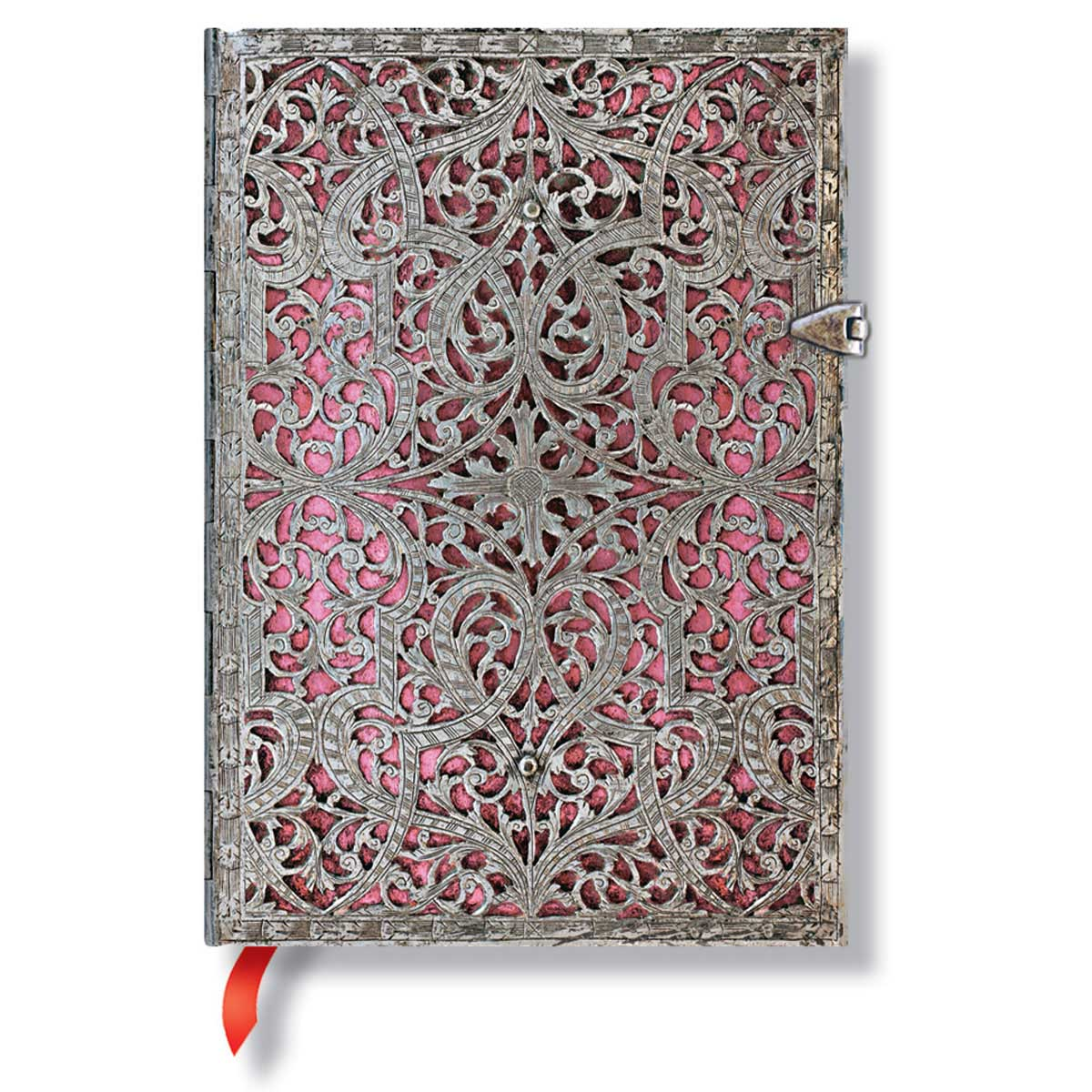 Paperblanks Filigree Blush Pink 5 x 7 Inch Midi Journal
