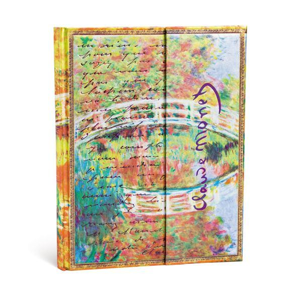 Paperblanks Monet Bridge Ultra 7 x 9 Inch Journal