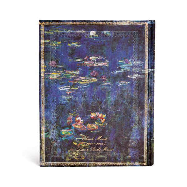 Paperblanks Monet Water Lilies Ultra 7 x 9 Inch