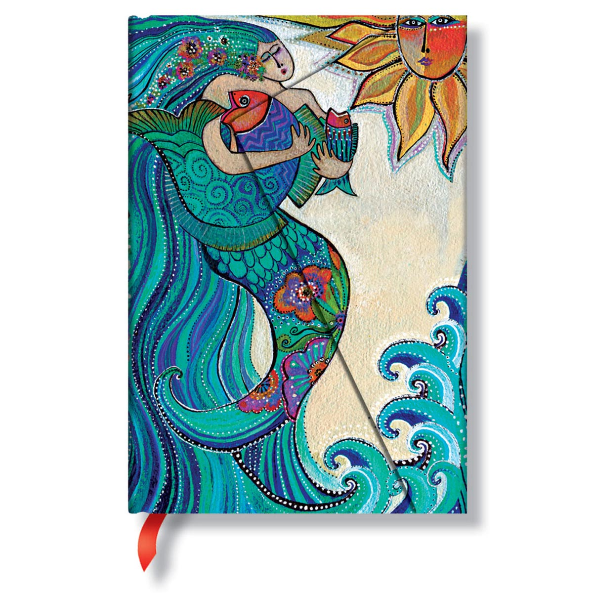 Paperblanks Laurel Burch Ocean Song Mini 4 x 5.5 Inch Journal