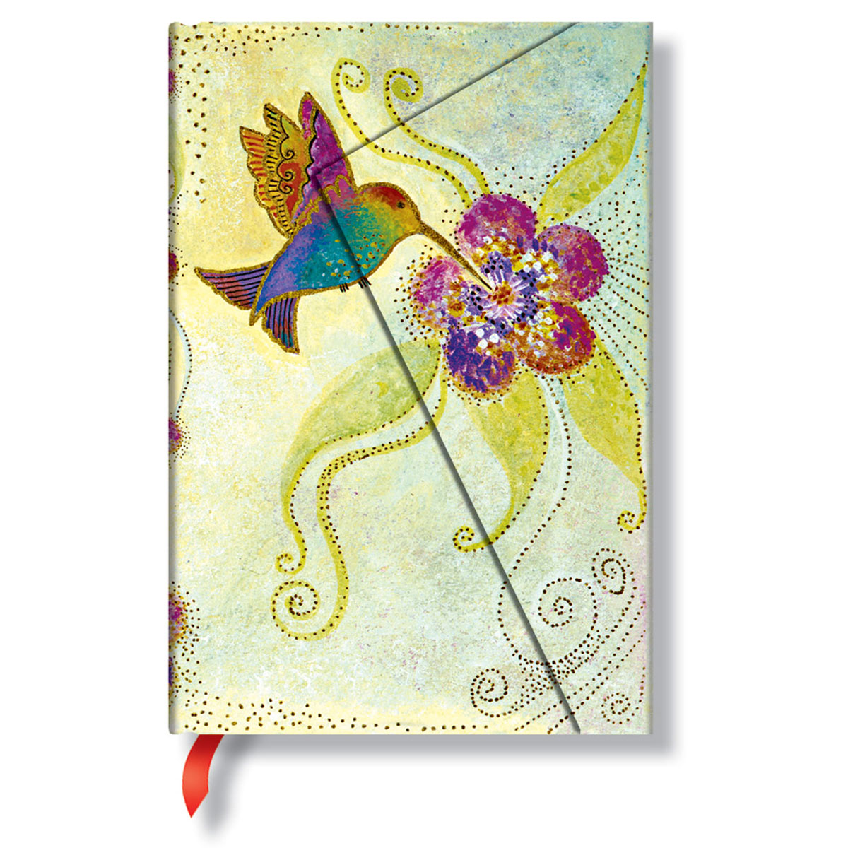 Paperblanks Laurel Burch Hummingbird Mini 4 x 5.5 Inch Journal