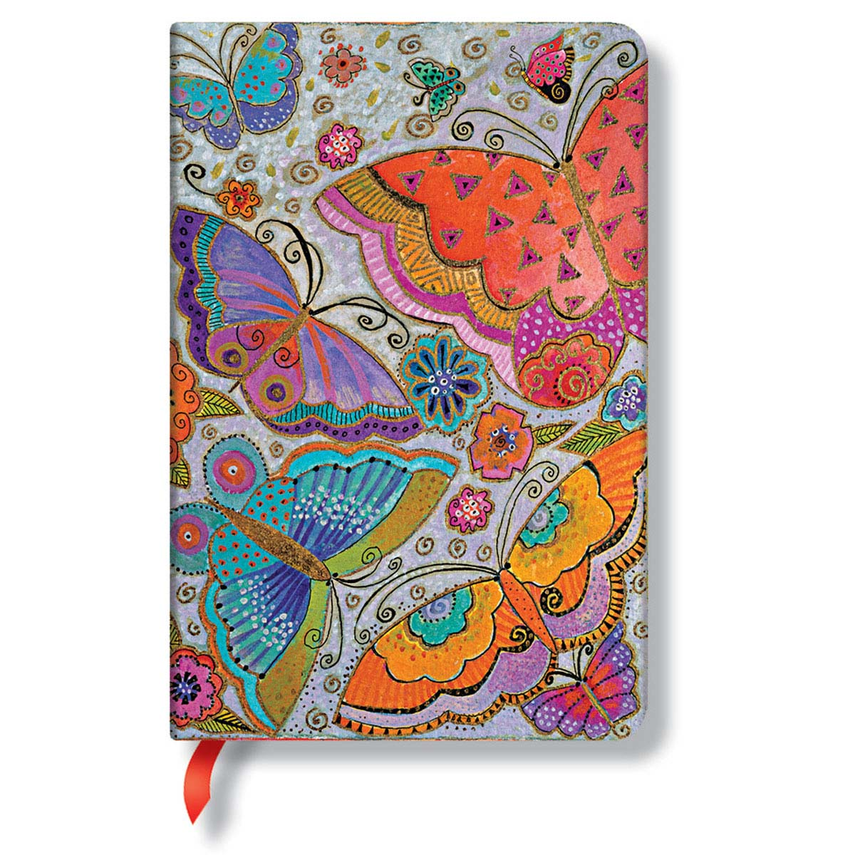 Paperblanks Laurel Burch Flutterbyes Mini 3.75x5.5 Inch Journal