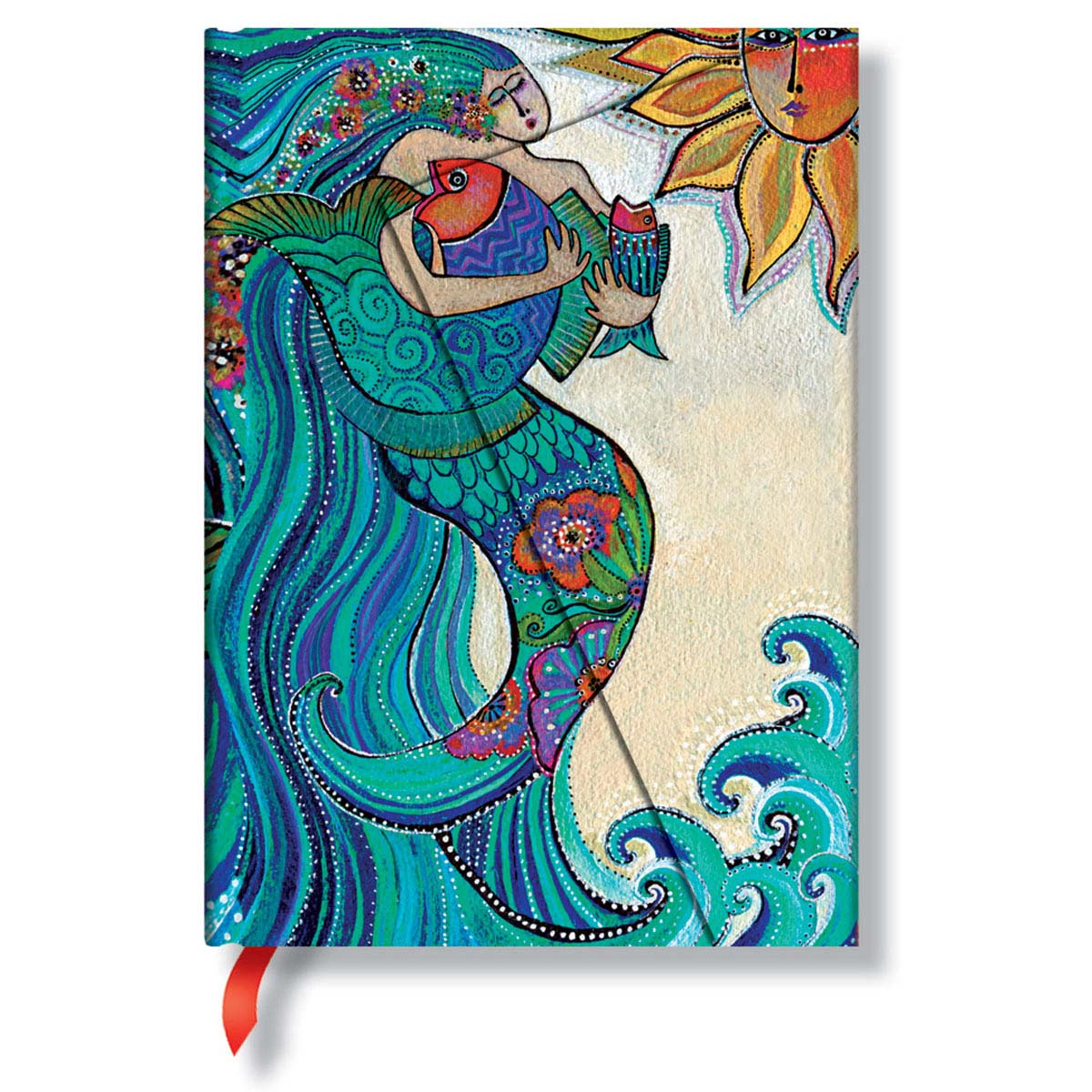 Paperblanks Laurel Burch Ocean Song Midi 5 x 7 Inch Journal