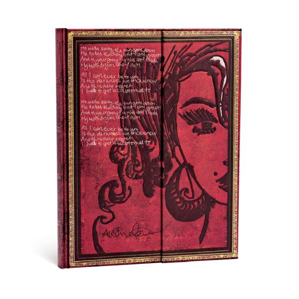 "Paperblanks Embellished Amy Winehouse Tears Dry Ultra 7"" x 9"""