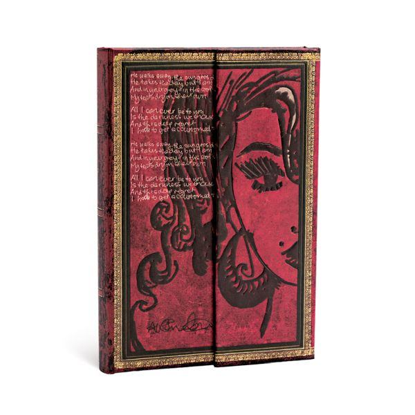 Paperblanks Amy Winehouse Tears Dry 4x5.5 Mini Journal