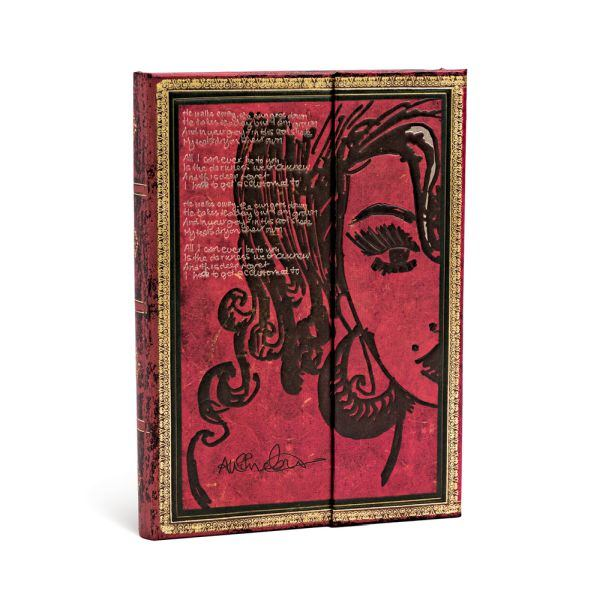"Paperblanks Embellished Amy Winehouse Tears Dry Midi 5"" x 7"""