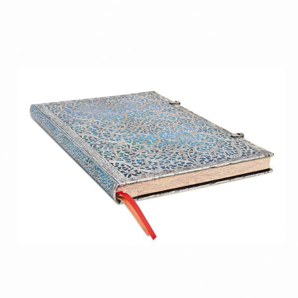Paperblanks Maya Blue 8.25 x11.75 Inch Unlined Grande Journal