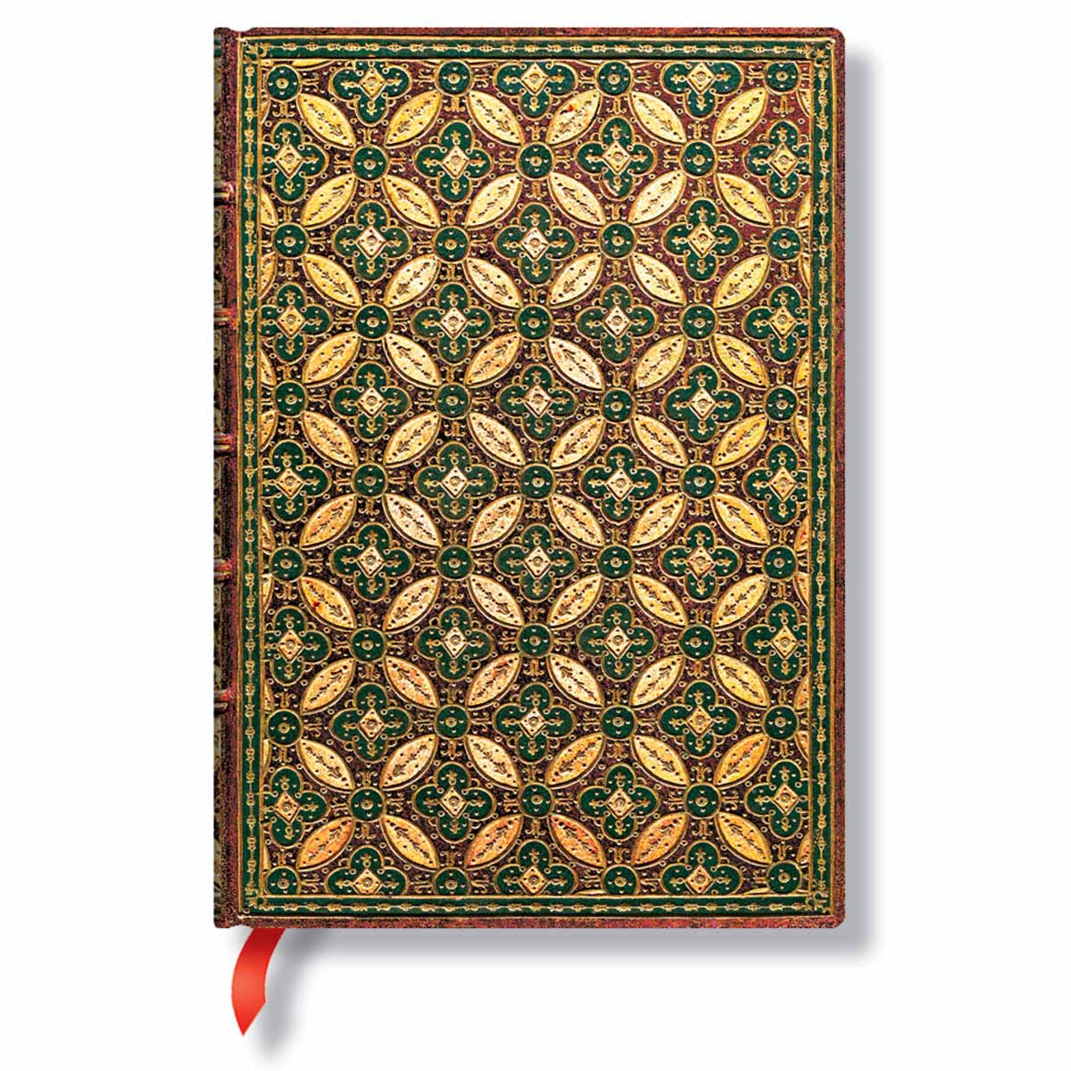 Paperblanks Parisian Mosaic Safran 5 x 7 Inch Midi Journal